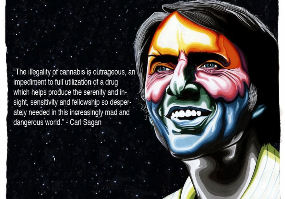 Carl Sagan – Cannabis Quote