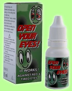 Anti Red-Eye Open Your Eyes Eyedrops