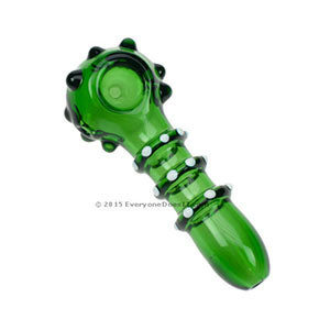 Balls of Steel Glass Spoon Pipe