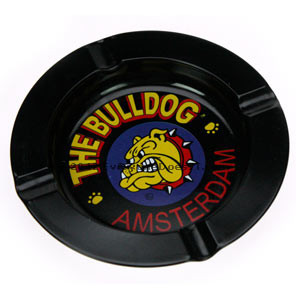 Bulldog Coffee Shop Ashtray Metal