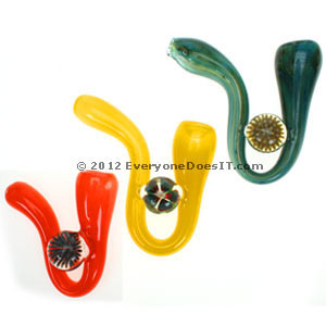 Christina Cody Sherlock Glass Pipe Large Implosion Marble