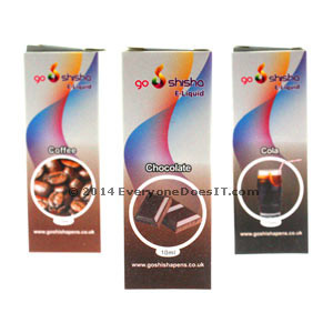 Go Shisha E-Liquid 24mg Nicotine