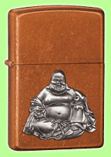 Lighter Buddha Emblem Toffee