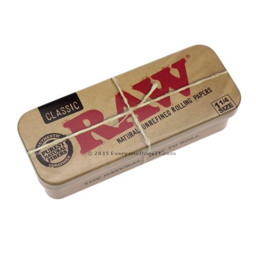Raw Cone Caddy Metal Storage Tin