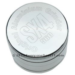 SX4 u2013 4 Part Grinder/Sifter Silver