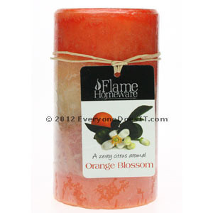 Scented Candle 5u201d - Orange Blossom