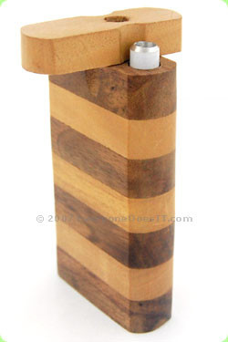 Striped Dugout Pipe Large