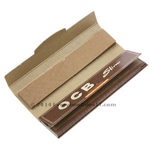 Unbleached Virgin Papers + Tips King Size Slim Single Pack
