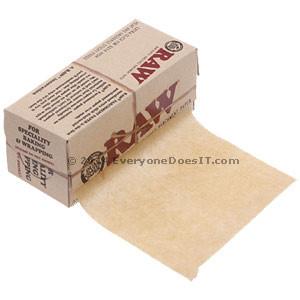 Unrefined Parchment Paper Rolls 10cm x 4m