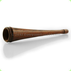 Wooden Chillum Smooth Finish