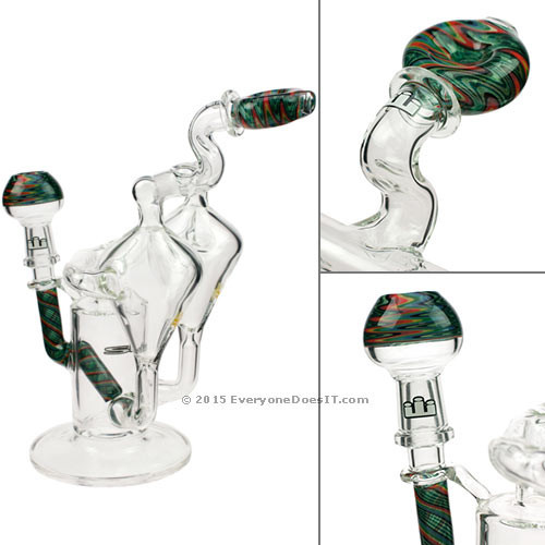 Worked Double Recycler Vapor Rig