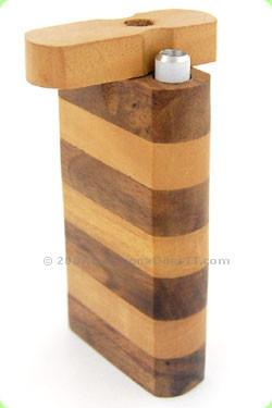 "Striped Dugout Pipe Large (4"")"