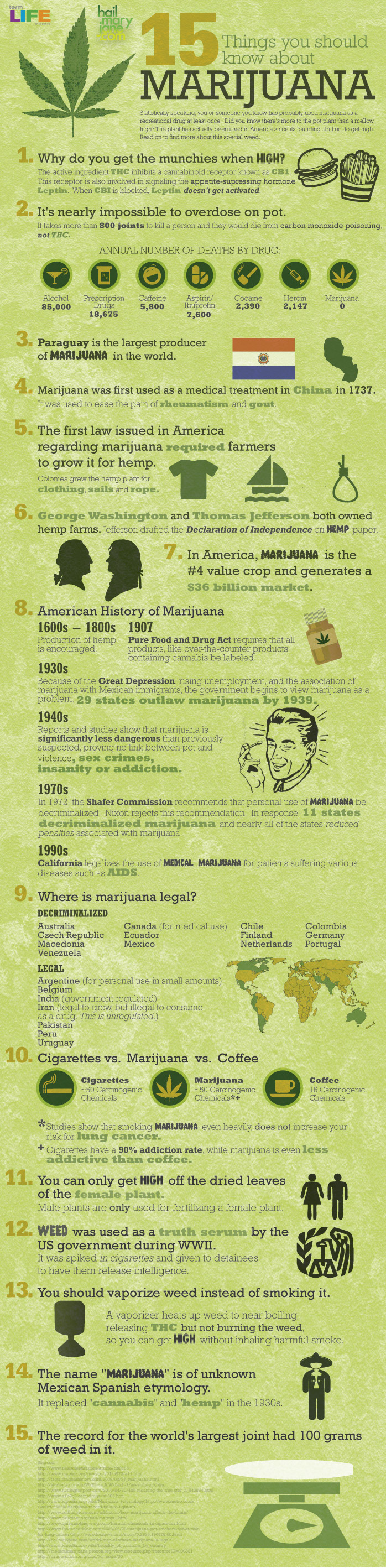 15 Things You Should Know About Cannabis (Infographic)