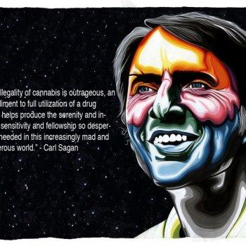 Carl Sagan – Cannabis Quote