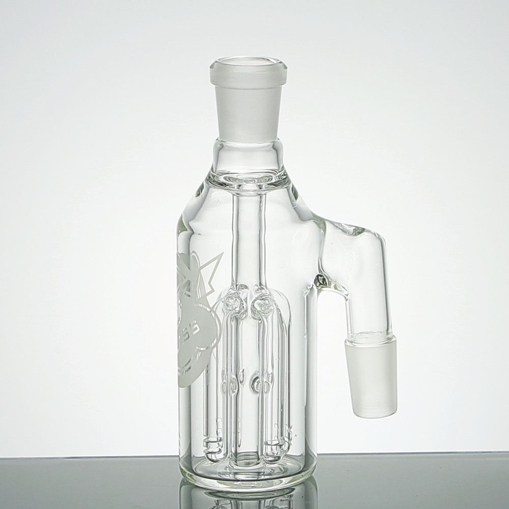 4 Arm Tree Perc Ash Catcher With 90 Degree Joint