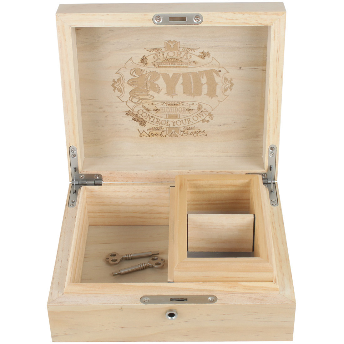 6x8 Humidor Combo Box with 3x5 Insert Box