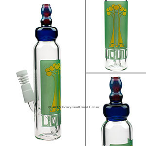 Baby Bottle Oil Rig with Male Joint