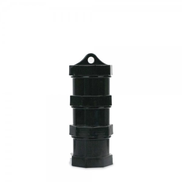 Black Stackable Dab Jars