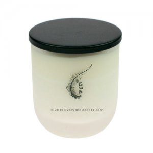 Candles Naturally BsaB Scented Glass Candle Pondicherry