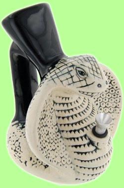 Ceramic Bong Snake