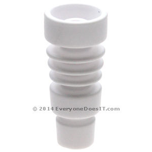 Ceramic Duo Domeless Concentrate Nail 14.5-18.8mm