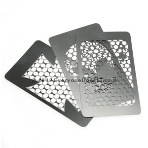 Credit Card Herb Grinders Stainless Steel