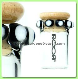 Custom XL Crown Stash Jar with Corked Lid