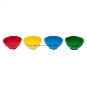 Dab Dish Silicone Insert Pack 4 Colours