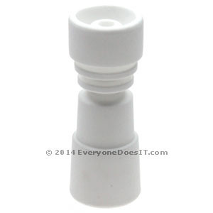 Duo Ceramic Domeless Concentrate Nail 14.5-18.8mm