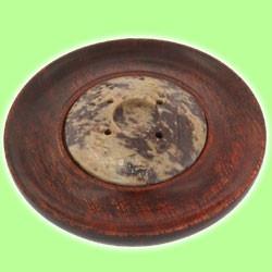 Engraved Soapstone Sombraro Ash Catcher