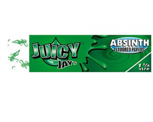 Flavored Rolling Papers Regular Size Absinth