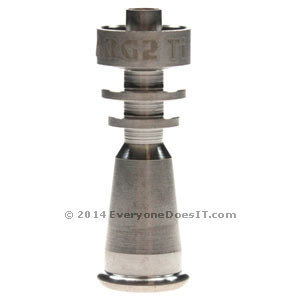 GR.2 Titanium Domeless Concentrate Nail