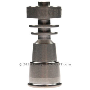 GR.2 Titanium Duo Domeless Concentrate Nail 14.5-18.8mm