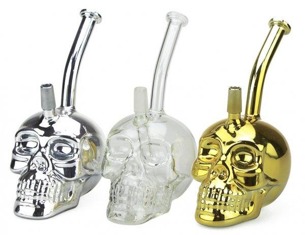 Glass Skull Dab Rig