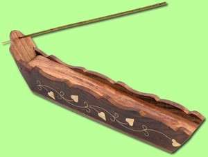 Incense Ash Catcher Boat