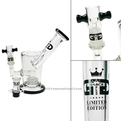 Limited Edition Mini Saxo Inline Drum Perc Bubbler Black