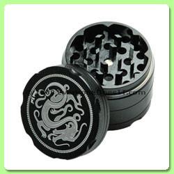 Mini Dragon Grinder/Sifter Black