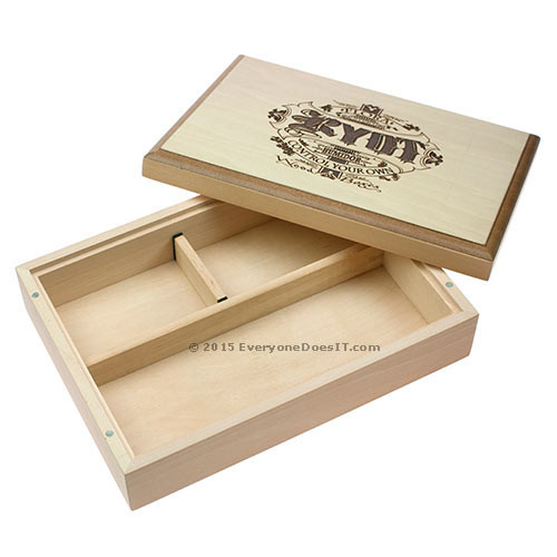 Natural Finish Smoker's Box