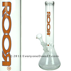 Orange Logo Bong Little Sista Logo Series