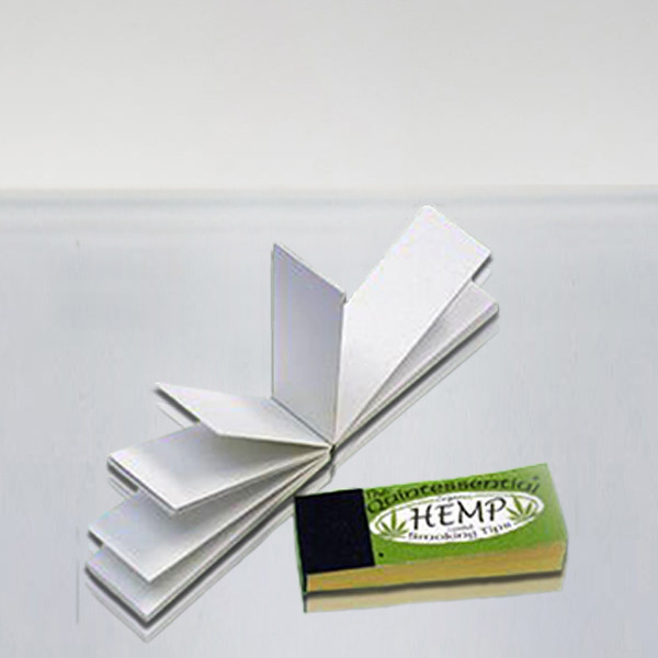 Organic Hemp Coated Smoking Tips 50 Pack