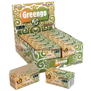 Paper Rolls King Size Slim 44mm Natural Unbleached