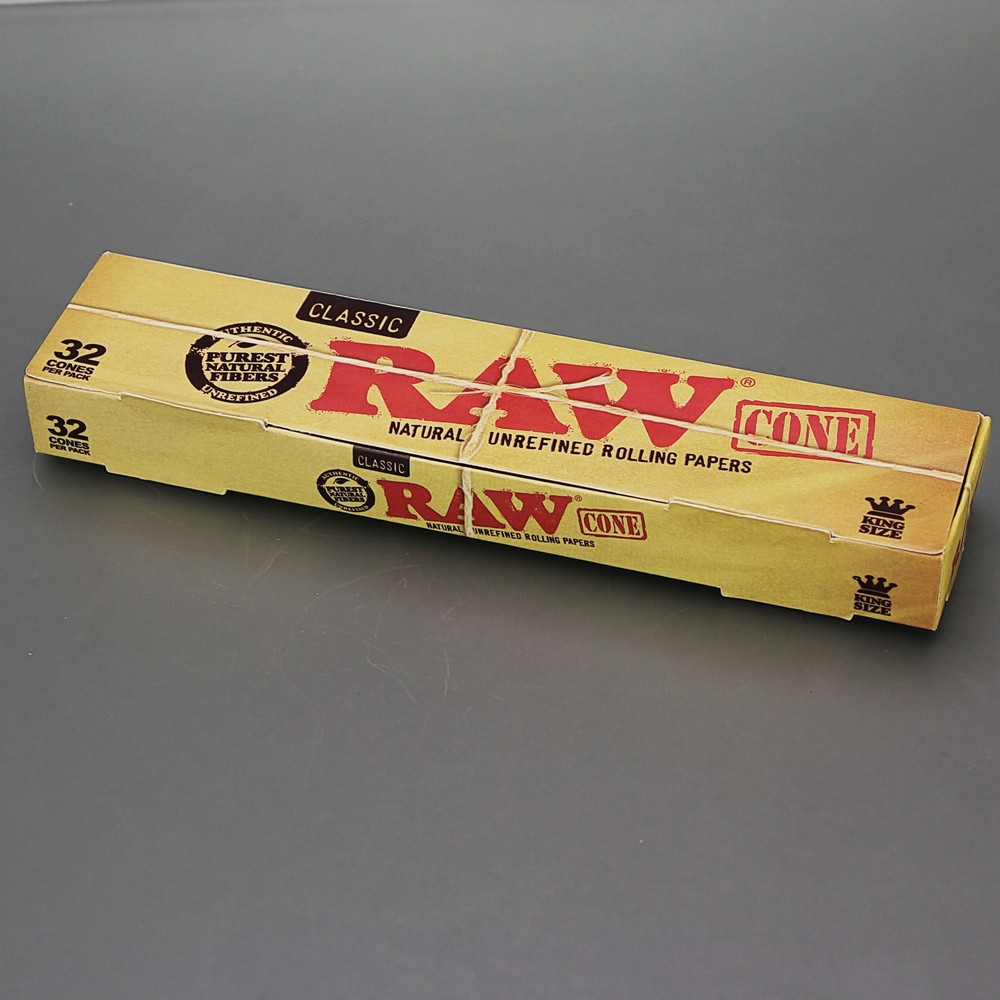 Pre Rolled Cones Regular Size 32 Pack Box