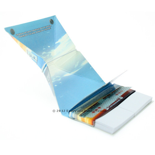Rolling Papers King Size Aficionado with Tray and Tips Single Pack