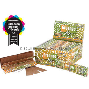 Rolling Papers King Size Plus Tips 2 in 1 Natural Unbleached Single Pack