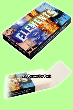 Rolling Papers Regular Size 300's Ultra Thin Single Pack