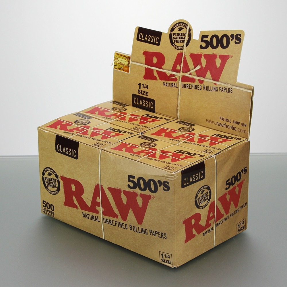 Rolling Papers Regular Size 500's Box