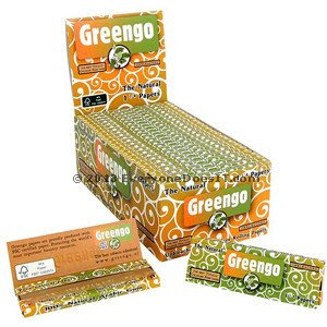 Rolling Papers Regular Size Natural Unbleached Single Pack