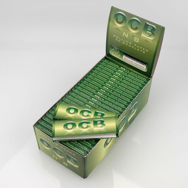 Rolling Papers Regular Size No. 8 Green Jungle Single Pack