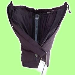 Sativa Bong Bag Nylon Black
