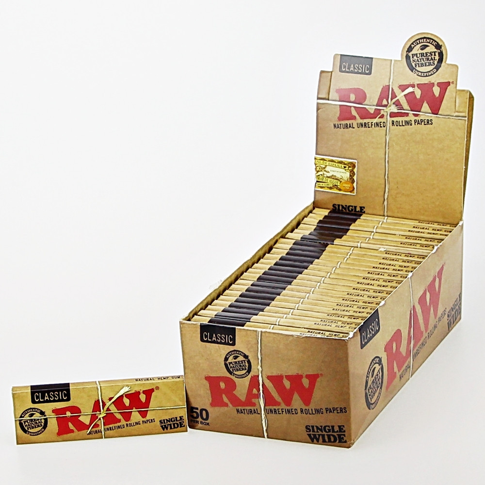 Single Wide Double Feed Rolling Papers